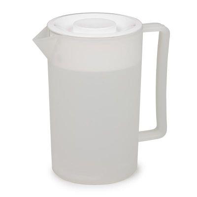 Bora Plastik Sürahi, Yuvarlak, Küçük, 1.2 L