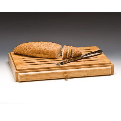 Zicco Ekmek Kesme Tahtası, Ahşap, 32x52x7 cm