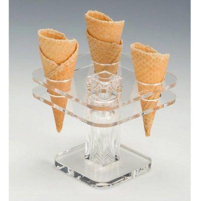 Zicco Dondurma Servis Standı, Akrilik, 13x13 cm