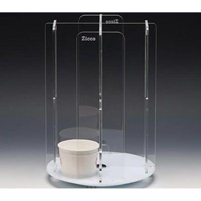 Zicco Bardaklık Standı, Döner, Akrilik, 24x24x35 cm