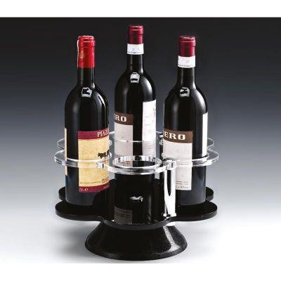 Zicco Şarap Standı, 70'lik, Döner, 6 Gözlü, Akrilik