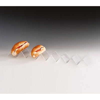Zicco Sandviç Teşhir Standı, Akrilik, 8.5x58 cm
