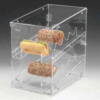 Zicco Sandwich Teşhir Standı, Akrilik, 27x37 cm