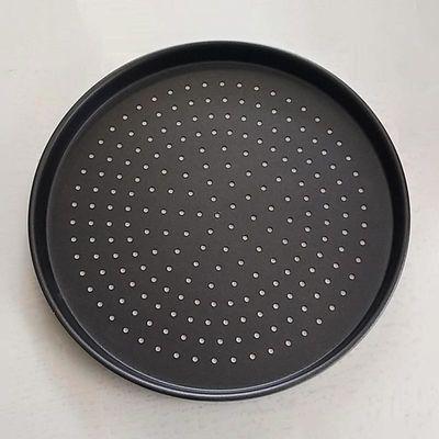 Almetal - Almetal Pizza Tavası, Std Mdl, Delikli, Kaplamalı, 34 cm (1)