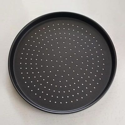 Almetal - Almetal Pizza Tavası, Std Mdl, Delikli, Kaplamalı, 40 cm (1)