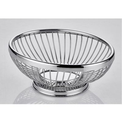 Altınbaşak Oval Ekmek Sepeti, Paslanmaz, 20x15x7 cm