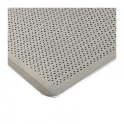 Almetal İtalyan Açılı Tava, Alüminyum, Delikli, 2 mm, 40x60x1 cm - Thumbnail