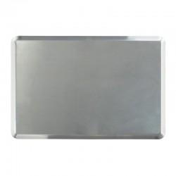Almetal İtalyan Açılı Tava, Alüminyum, 2 mm, 40x60x1 cm - Thumbnail