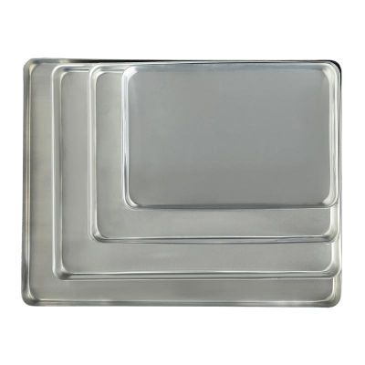 Almetal - Almetal Pres Baskı Tepsi, Alüminyum, 2 mm 80x100 cm (1)