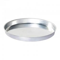 Almetal Baklava Tepsisi, Yuvarlak, Alüminyum, 40 cm - Thumbnail