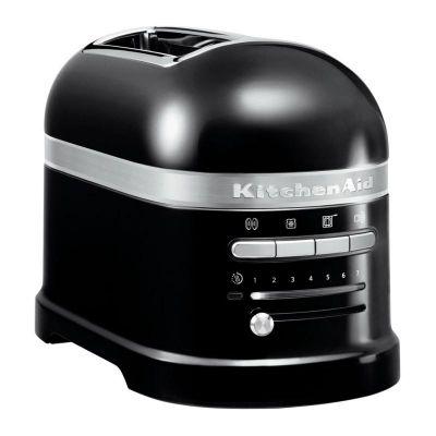 KitchenAid Artisan Ekmek Kızartma Makinesi, 2'li, Siyah