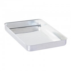 Almetal Baklava Tepsisi, Köşeli, 1000 gr, Kalın, Alüminyum, 35x45x4 cm - Thumbnail