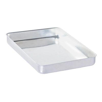 Al Metal Baklava Tepsisi, Köşeli, Kalın, 20x30x3 cm