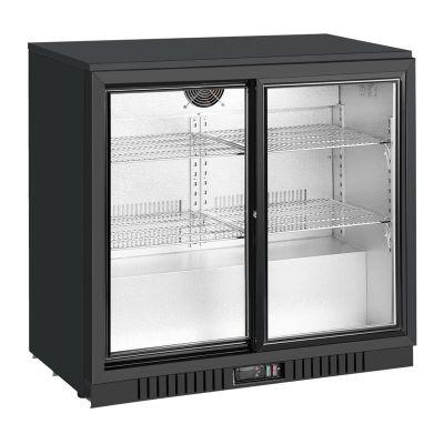 By Kitchen Bar Arkası Şişe Soğutucu Dolap, İki Kapılı, 900x570x895 mm