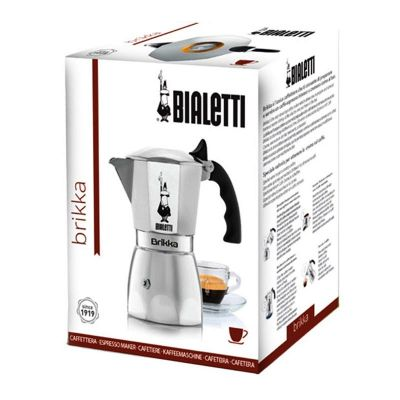Bialetti Moka Pot Brikka, 4 Cup