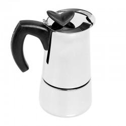 Bialetti Moka Pot Musa, Çelik, 6 Cup - Thumbnail