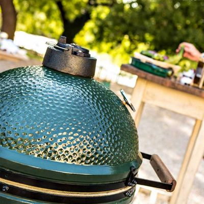 Big Green Egg - Big Green Egg Large Barbekü Mangal, Kömürlü (1)