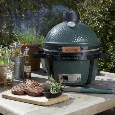Big Green Egg - Big Green Egg Minimax Barbekü Mangal, Kömürlü (1)