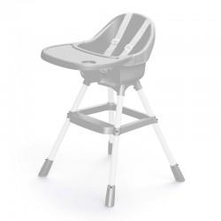 Biradlı Bebek Mama Sandalyesi, Ekonomik, Taşıma Kapasitesi 15 kg, Gri - Thumbnail
