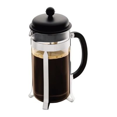 Bodum - Bodum Caffettiera French Press, 8 Cup, 1 L, Siyah (1)