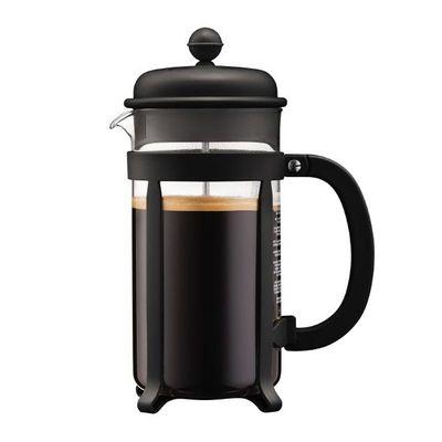 Bodum Java French Press, 8 Cup, 1 L, Siyah