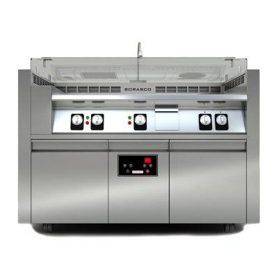 Borasco - Borasco C-3 Davlumbazsız Mobil Pişirme İstasyonu (1)
