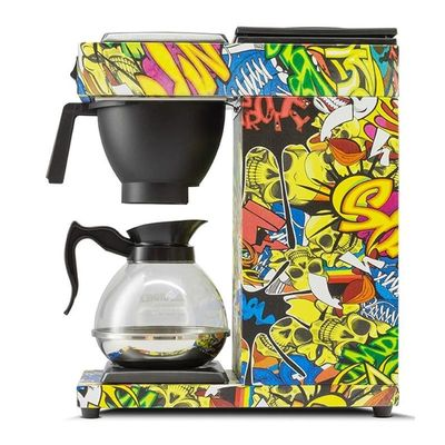 Borda - Borda Filtre Kahve Makinesi, Grafiti Desen (1)