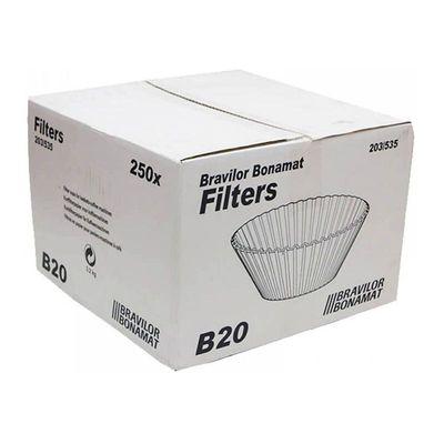 Bravilor Bonamat - Bravilor Bonamat B20 Kahve Filtre Kağıdı, 203/535 cm, 250 Adet (1)