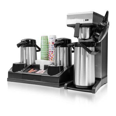 Bravilor Bonamat - Bravilor Bonamat TH Filtre Kahve Makinesi + Airpot Furento Termos + Airpot Station + Peçete ve Karıştırıcı Standı + Bardaklık Standı (1)