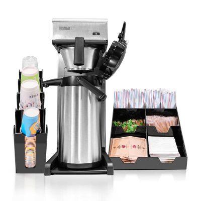 Bravilor Bonamat - Bravilor Bonamat TH Filtre Kahve Makinesi + Airpot Furento Termos + Peçete ve Karıştırıcı Standı + Bardaklık Standı (1)