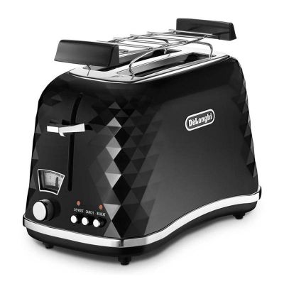 Delonghi CTJ 2103.BK Brillante Ekmek Kızartma Makinesi, Siyah