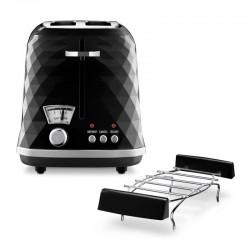 Delonghi CTJ 2103.BK Brillante Ekmek Kızartma Makinesi, Siyah - Thumbnail