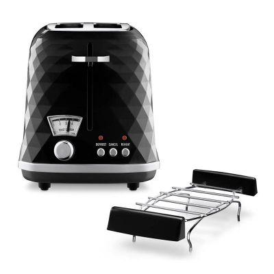 Delonghi - Delonghi CTJ 2103.BK Brillante Ekmek Kızartma Makinesi, Siyah (1)