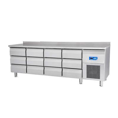 Öztiryakiler 47NMV02 E3 Buzdolabı, Tezgah Tipi, 8 Çekmeceli