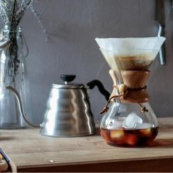 Cafemarkt - Cafemarkt Chemex, Ahşap Tutacaklı, 600 ml, 4 Bardak (1)