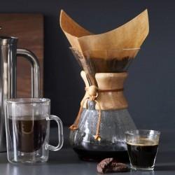 Cafemarkt Chemex, Ahşap Tutacaklı, 800 ml, 6 Bardak - Thumbnail