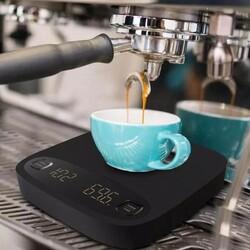 Cafemarkt Dijital Hassas Tartı, Led Ekranlı, Demleme Profilli - Thumbnail