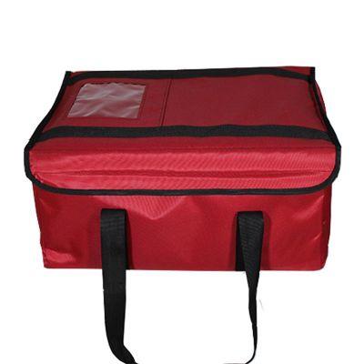 Cafemarkt Fast Food Servis Çantası, Takviyeli, 40x40x25 cm, Kırmızı