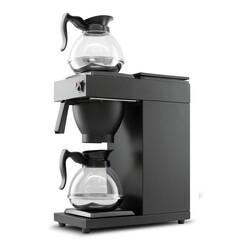 Cafemarkt Filtre Kahve Makinesi, Siyah - Thumbnail