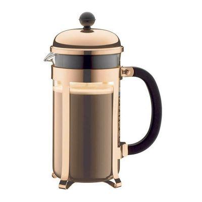 Cafemarkt Lux French Press, 350 ml, Bakır