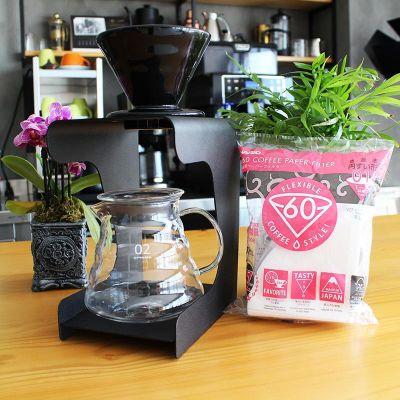 Cafemarkt Prestij Standlı V60 Kahve Demleme Seti