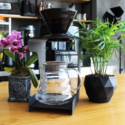 Cafemarkt - Cafemarkt Prestij Standlı V60 Kahve Demleme Seti (1)