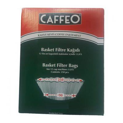 Caffeo - Caffeo Kahve Filtre Kağıdı, 250/90 mm, 1000 Adet (1)