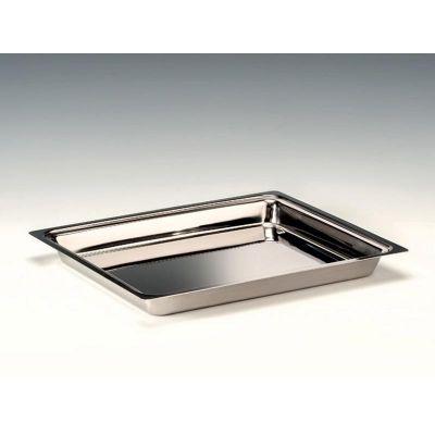 Zicco Teşhir Tepsi, Çelik, GN 1/2, 30x36x h:3.5 cm