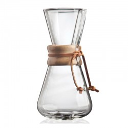 Chemex 3 Cup, Ahşap Tutacaklı - Thumbnail