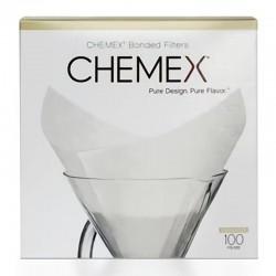Chemex Filtre Kağıdı, 6-8 Cup Model İçin, 100 Adet - Thumbnail