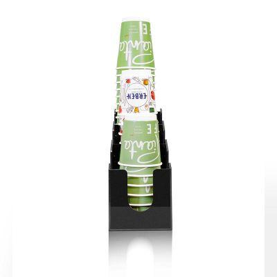 Coffee Tech - Coffee Tech Bardaklık ve Kapaklık Standı, Pleksi, 106x314x200 mm (1)