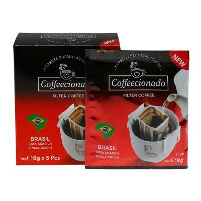 Coffeecionado - Coffeecionado Brasil Colombia Pratik Filtre Kahve, 10'lu (1)