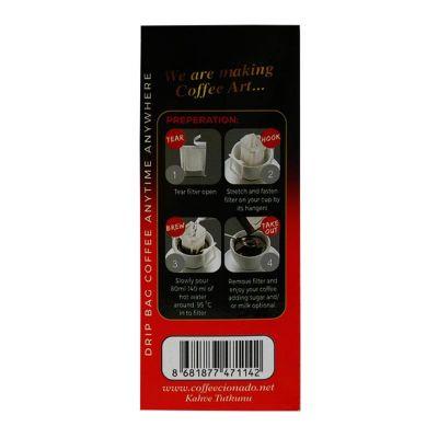 Coffeecionado - Coffeecionado Brasil Single Origin Pratik Filtre Kahve, 10'lu (1)