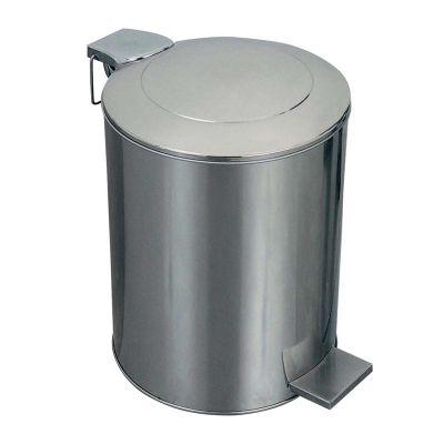 Öztiryakiler Çöp Kovası, Pedallı, Paslanmaz, Endüstriyel Tip, 104 L